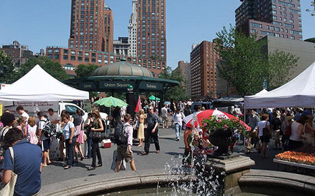 2dec5c41452f2 The hottest shopping/eating/hangout zone in the city may be Union Square.  The long-forlorn south side of the square is now a megashopping zone with  Whole ...