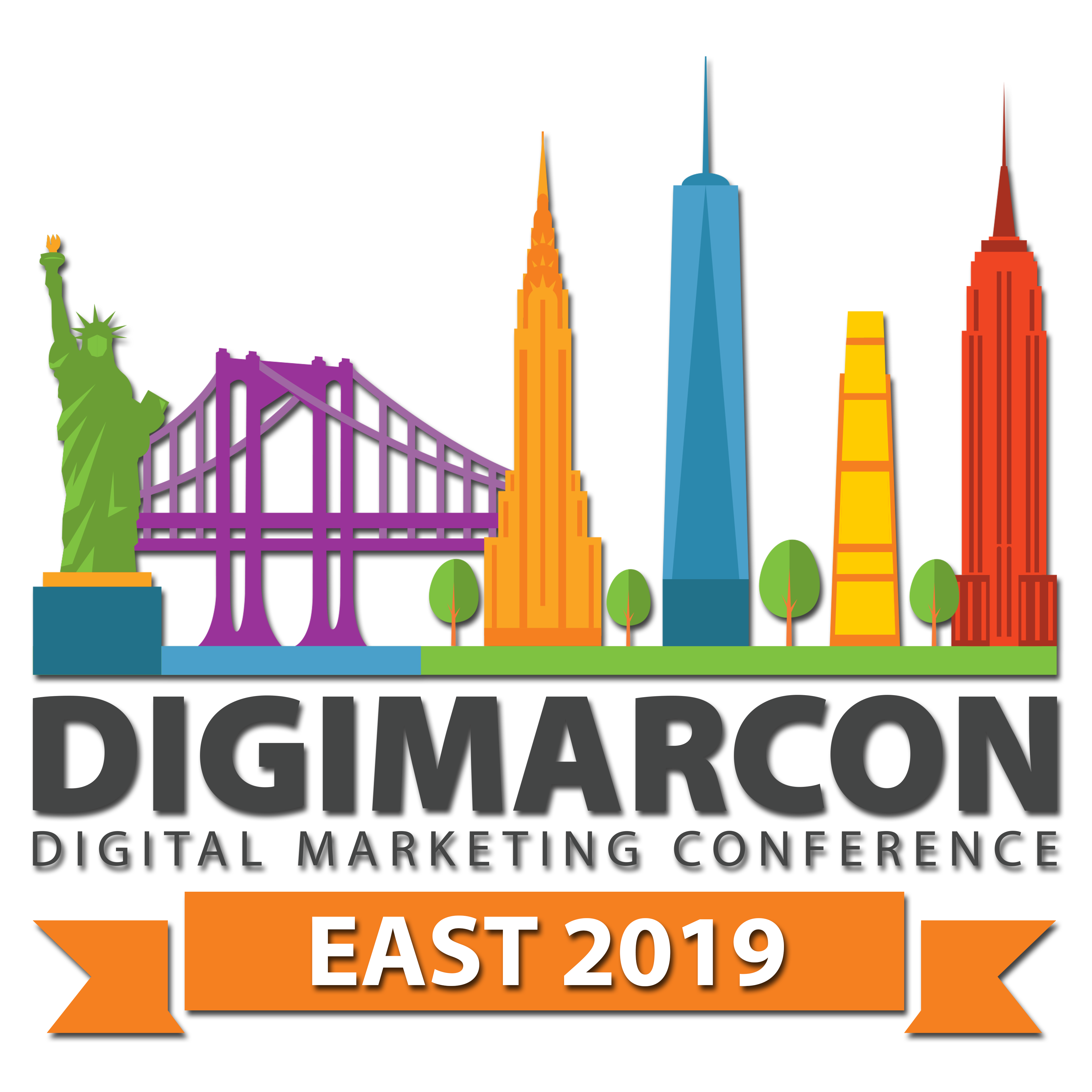 DigiMarCon East 2019 · New York, NY · May 9 - 10, 2019 · Digital