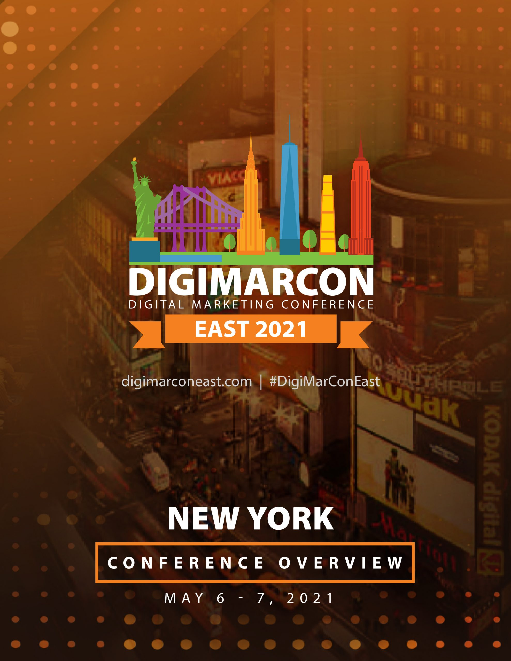 DigiMarCon East 2021 Brochure